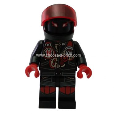 Mr. E - Biker Vest with Number 103 - LEGO Minifigure Ninjago