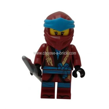 Nya (Legacy) with weapons - LEGO Minifgure Ninjago