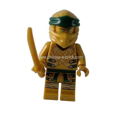 Lloyd - Golden Ninja Legacy with swords - LEGO Minifigure Ninjago