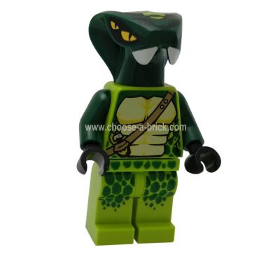 Spitta (Legacy) with weapon - LEGO Minifigure Ninjago