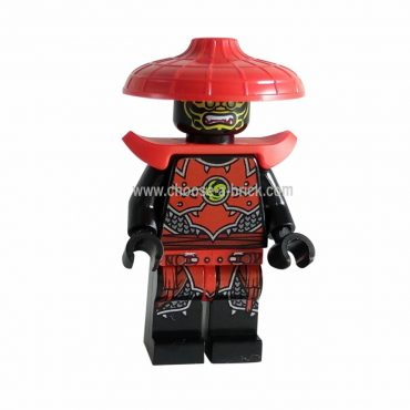 Stone Army Scout with Shoulder Armor Legacy with weapon - LEGO Minifigure Ninjago