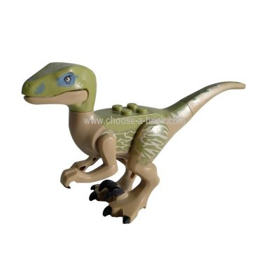 Raptor - Velociraptor Delta from Jurassic world I - LEGO Minifigure Jurassic World