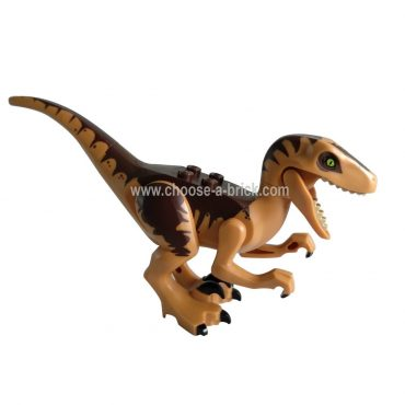 Raptor - Velociraptor with Dark Brown - LEGO Minifigure Jurassic World