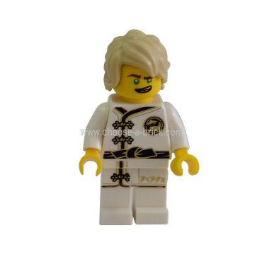 Lloyd - White Wu-Cru Training Gi,weapon - LEGO Minifigure Ninjago