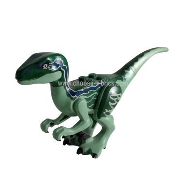 Raptor - Velociraptor Blue from Jurassic world I - LEGO Minifigure Jurassic World