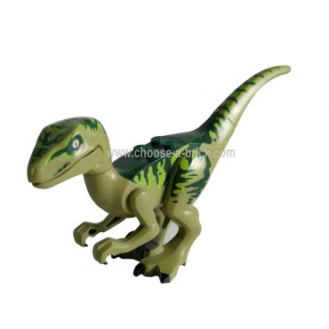 Raptor - Velociraptor Charlie from Jurassic world I - LEGO Minifigure Jurassic World