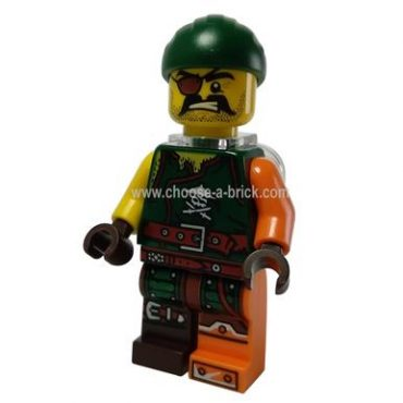 Sqiffy with Neck Bracket 70600 - LEGO Minifigure Ninjago