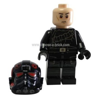 Inferno Squad Agent (Frown, Sunken Eyes) - LEGO Ninjago