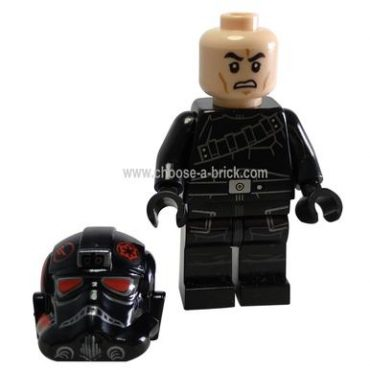 Inferno Squad Agent (Open Mouth, Grimacing) - LEGO Minifigure Ninjago