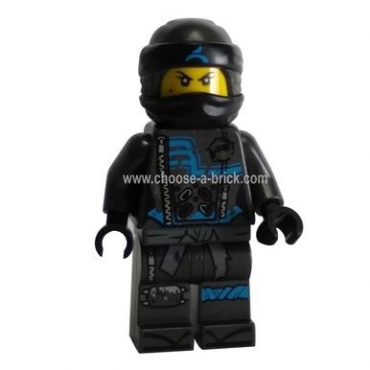 Nya, Crooked Smile / Scowl - Hunted - LEGO Minifigure Ninjago