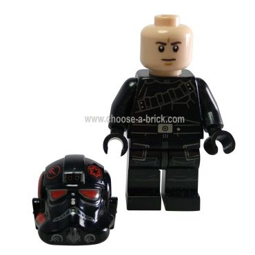 Inferno Squad Agent with Utility Belt (Frown) - LEGO Minifigure Ninjago