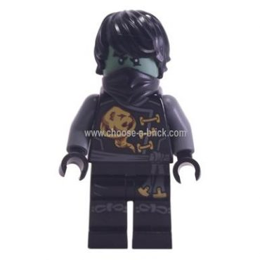 Cole - Skybound, Ghost, Hair 70593 - LEGO Minifigure Ninjago
