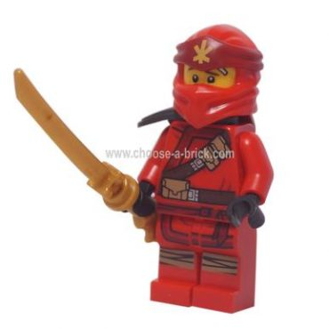 Kai (Forbidden Spinjutzu) with weapon - LEGO Minifigure Ninjago