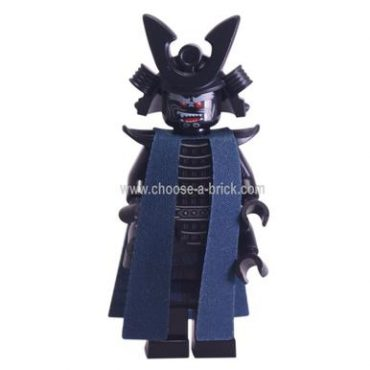 Lord Garmadon - Armor and Robe - LEGO Minifigure Ninjago