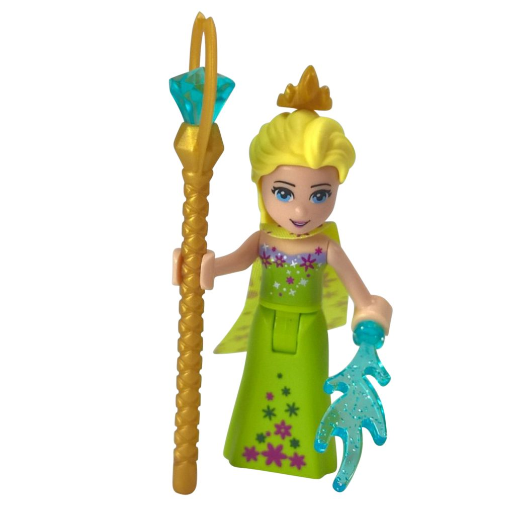 Queen Elsa with staff LEGO Minifigure