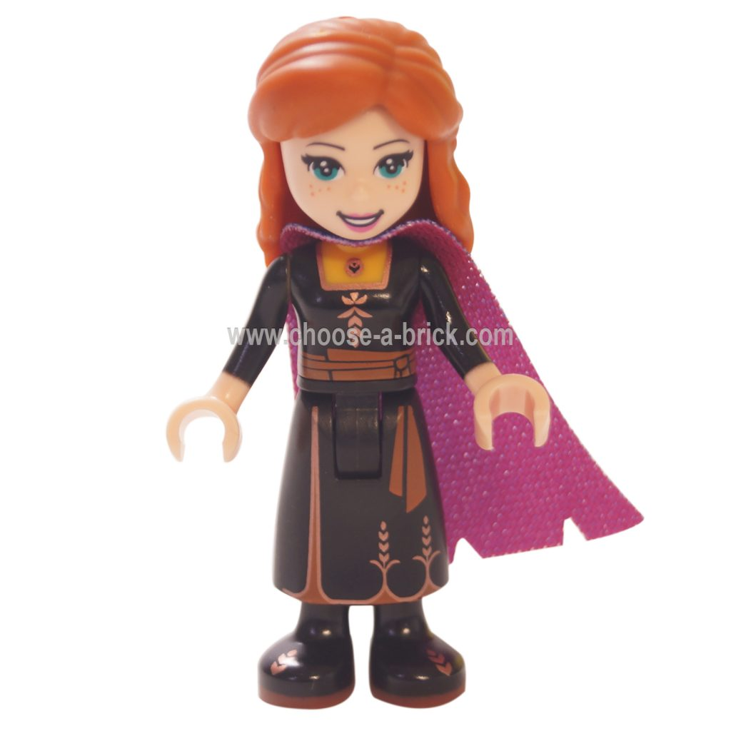 Anna Minifigure in black dress