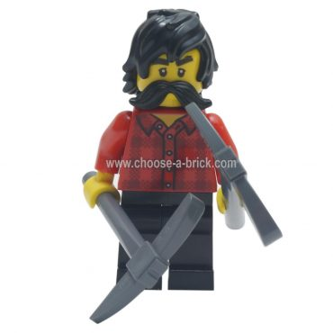 LEGO Minifigure - Cole - Avatar Cole with weapon